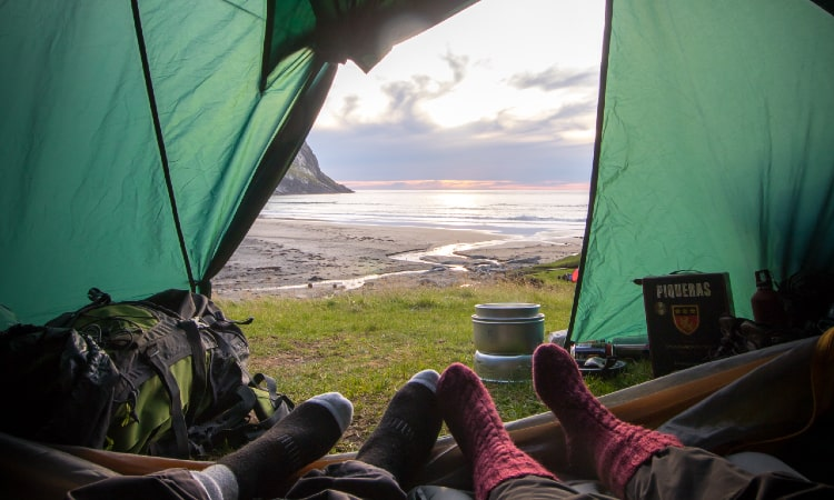 is it safe to sleep in a moldy tent